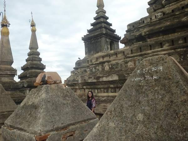 Tôi dành thời gian đi đến những khu đền buổi sớm, và đã được tận hưởng cảm giác thú vị pha lẫn sợ hãi khi là người duy nhất bước đi trong đền cổ hùng vĩ, và được nghe những bức tượng Phật thì thầm kể giai thoại của một quá khứ lẫy lừng.