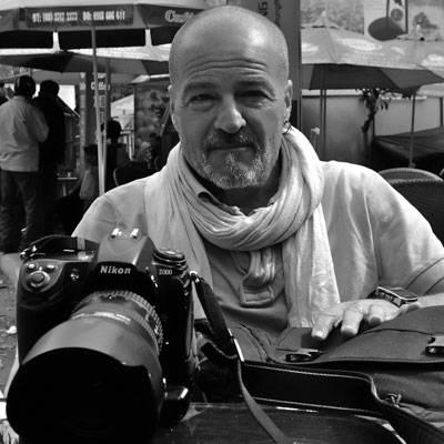 Nghệ sĩ nhiếp ảnh Thiery Beyne. Ảnh: baokhanhhoa