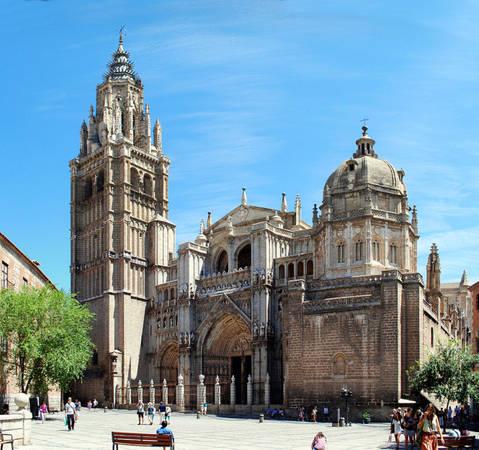 Thánh đường Santa María ở Toledo - Ảnh: wiki