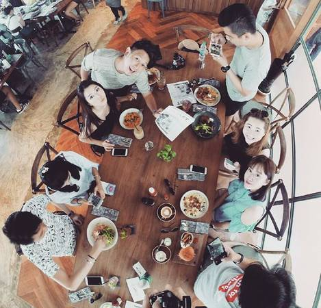 Roast Coffee là nơi mà bạn sẽlăm lăm máy ảnh để chụp món ăn.Ảnh:@39shi