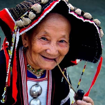 """""""Bà mẹ Dao"""" của tác giả Vũ Mạnh Cường (Phú Thọ) cũng đạt giải ba."""