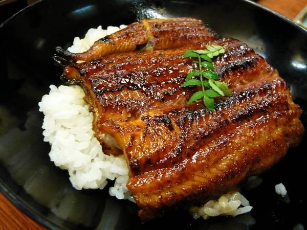 Unagi là món lươn nướng, một trong những món ăn đắt tiền ở Nhật Bản vì độ dai và hương vị đặc biệt. Lươn thường ăn kèm với donburi (các món ăn bằng chén cơm), hoặc đĩa cơm. Nước sốt thịt nướng ngọt ngọt được phết lên trên thịt lươn trước khi nấu.