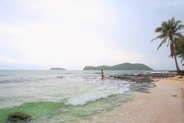 Hòn Mây Rút trong có 2 hòn đảo là: Mây rút trong và Mây rút ngoài. Hòn đảo hoang sơ này có bờ biển thoai thoải, hàng dừa chạy dài và bãi đá đua ra biển. Làn nước ấm, trong xanh cùng bãi cát mịn bên cạnh có dịch vụ lặn biển ngắm san hô và bắt nhum do một hộ dân sống trên đảo tự làm. Địa thế của hòn đảo thích hợp cho những người thích khám phá, ở lều, cắm trại ven biển để sống hòa mình vào thiên nhiên.
