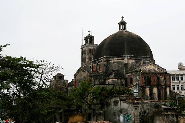Nhà thờ Khoái Đồng.Ảnh: Saigoneer.com