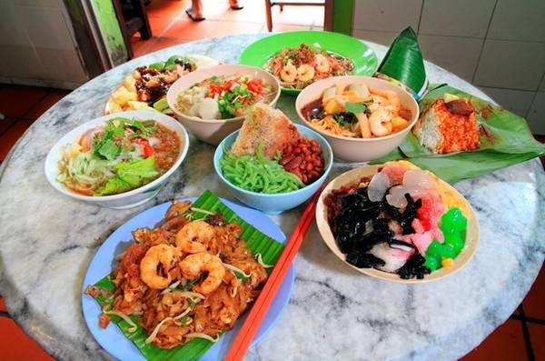Các món ngon nên thử tại Penang.