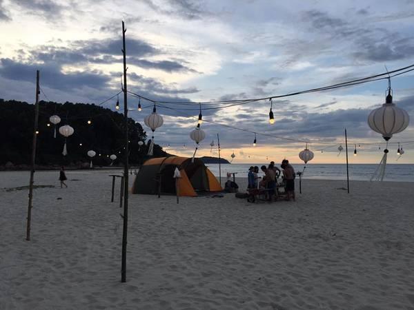 Thoải mái làm những điều bạn thích tại Cảnh Dương Beachcamp.