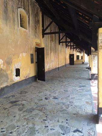 Nhà tù Côn Đảo.
