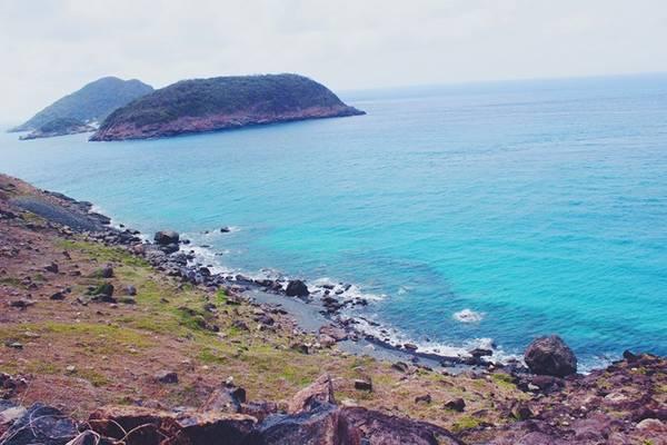 Màu xanh của biển đầy cuốn hút.