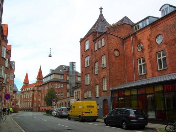 Kiến trúc phong cách Bắc Âu ở trung tâm thành phố - Ảnh: blogspot