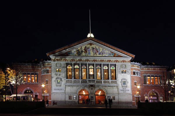 Nhà hát Aarhus xây dựng từ cuối thế kỷ 19, nơi tổ chức những chương trình văn hóa tầm cỡ của Đan Mạch và đón gần 100.000 lượt khán giả mỗi năm - Ảnh: wp