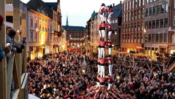 Mùa thu, Aarhus tưng bừng trong lễ hội - Ảnh: wp