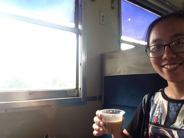 Ly trà ngon nhất tôi có ở Myanmar.