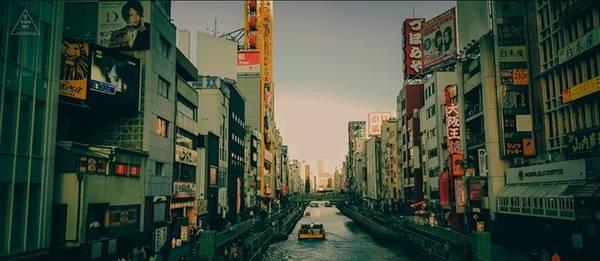 Shinsaibashi - con đường mua sắm lớn nhất tại Osaka.