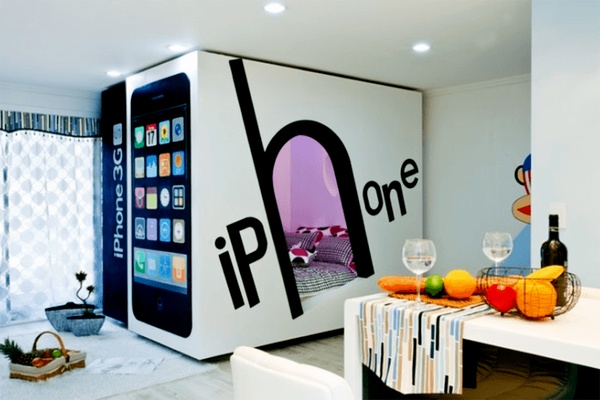 Căn phòng iPhone.