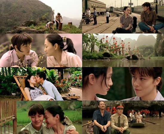 Toàn bộ bộ phim được quay ở Việt Nam nên người xem dễ dàng bắt gặp những góc máy chỉ riêng của vùng đồng bằng Bắc bộ mới có.