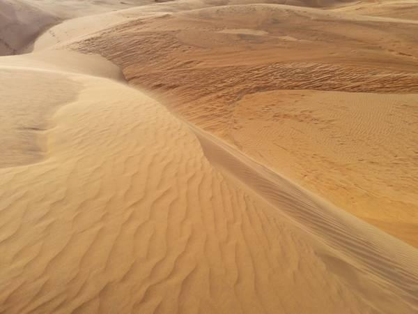 Sau 30 km từ TP Phan Thiết, bạn có thể gửii xe ở những quán cà phê ven đường. Đối diện bên kia đường là đồi cát hiện ra thật thanh bình với buổi chiều êm ả. Tại đây bạn có thể trượt cát với một miếng ván trượt khoảng 10.000-20.000 đồng.