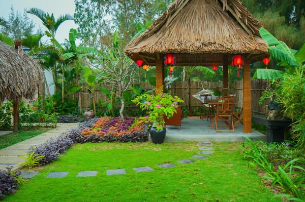 """Một """"nhà hàng"""" giữa vườn cho bạn thưởng thức bữa sáng ngon miệng và yên bình"""