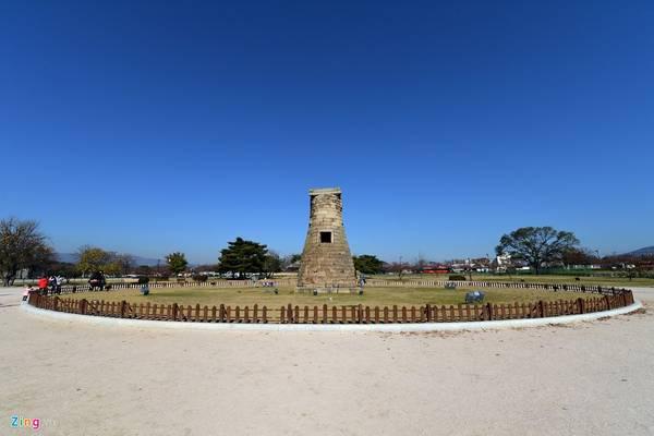 Đài thiên văn Cheomseongdae lâu đời nhất châu Á tại tỉnh Gyeongju (Hàn Quốc) là một trong những điểm đến thú vị ở xứ kim chi.
