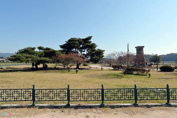 Xung quanh đài thiên văn là một công viên thoáng mát. Vào dịp cuối tuần, người dân Hàn Quốc thường tìm đến vui chơi.