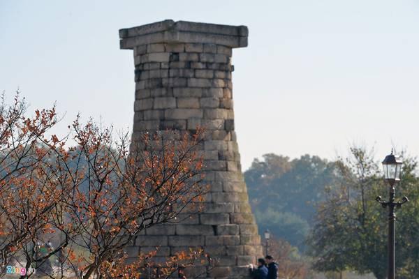Theo sử sách, vào thế kỷ thứ 7, Nữ hoàng Seondeok của vương triều Silla (632-647) đã cho xây dựng đài thiên văn này.