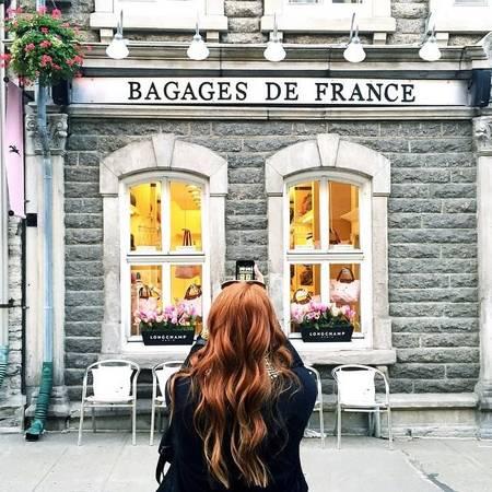 Old Québec, Québec City: Kiến trúc cổ, những con phố trải sỏi, những cửa hàng boutique xinh xắn, Québec City mang đậm nét văn hóa Canada độc đáo. Ảnh: colleenamelia.