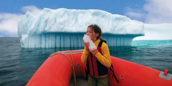 Băng trôi ở Newfoundland và Labrador: Mùa xuân và đầu hạ là thời điểm lý tưởng nhất để ngắm băng trôi ở đây. Từ Twillingate đến St. John's, du khách có thể chiêm ngưỡng bằng cách đi dọc bờ biển, hoặc đặt tour đi thuyền, kayak. Ảnh: Linkum Tours.
