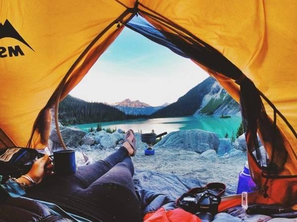Joffre Lakes Provincial Park: Công viên cách Vancouver gần 3 tiếng đồng hồ, nổi tiếng với 3 hồ nước xanh biếc. Ảnh: Mirae Campbell.
