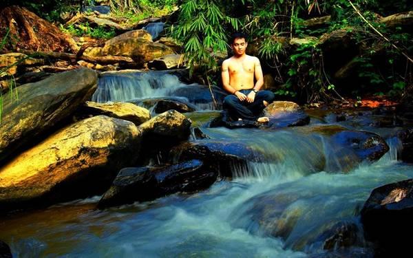 Vẻ đẹp của thác Triệu Hải.