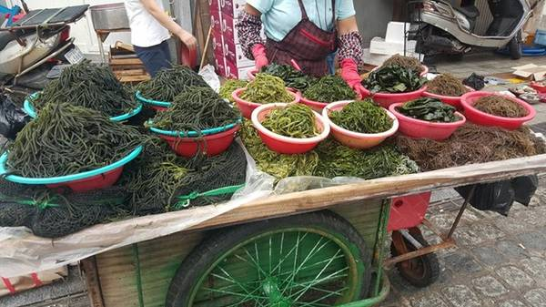 Chợ được chia thành nhiều khu riêng biệt, hoạt động suốt đêm ngày. Đến đây, bạn sẽ cảm nhận được không khí rất gần gũi giống chợ ở Việt Nam.