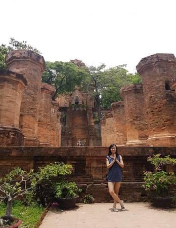 Cổng chính của Ponagar.