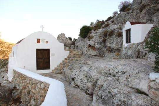 Những căn nhà cổ ở khu di tích khảo cổ Palaiokastro - Ảnh: kastra.eu