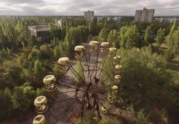 Nằm ở Pripyat, Ukraine, khu vui chơi này dự kiến mở cửa vào ngày 1/5/1986 nhân dịp Quốc khánh nước này ngày 24/4. Tuy nhiên, kế hoạch bị phá sản vào ngày 26/4, khi thảm họa hạt nhân Chernobyl xảy ra gần đó. Hình ảnh hoang tàn của công viên đã trở thành một biểu tượng của thảm họa Chernobyl.