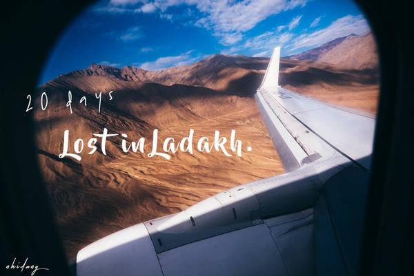 Thứ mà tôi cảm thấy nhẹ nhõm nhất là ô cửa sổ trên máy bay. Và chuyến đi thực sự đã bắt đầu! Tôi thấy bên cửa sổ những đám mây bềnh bồng lướt qua, để lộ dần những dãy núi quyến rũ đôi mắt của những kẻ phía đằng sau ô vuông kia. Cơ trưởng đáp máy bay rất êm trong tràng vỗ tay kết thúc chuyến bay từ Delhi đến Leh - một thị trấn Ladakh, phía Bắc Ấn Độ.
