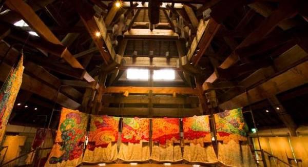Bộ sưu tập trang trí kimono tại Bảo tàng Itchiku Kubota - Ảnh: fascinant-japon