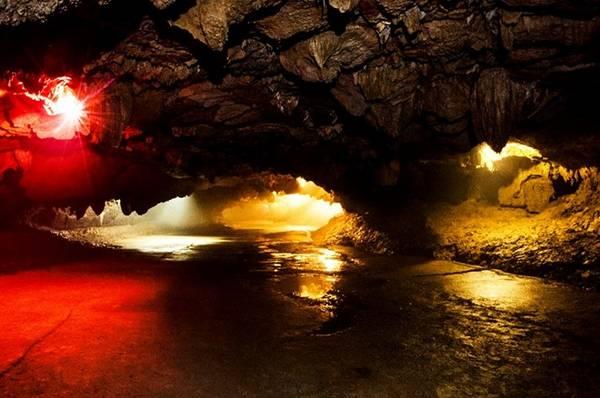 Động có chiều dài 700 m bao gồm động khô dài 200 m và động nước dài 500 m.
