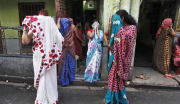 Sonagachi nằm ở bắc Kolkata với hàng trăm nhà thổ. Ảnh: QZ.