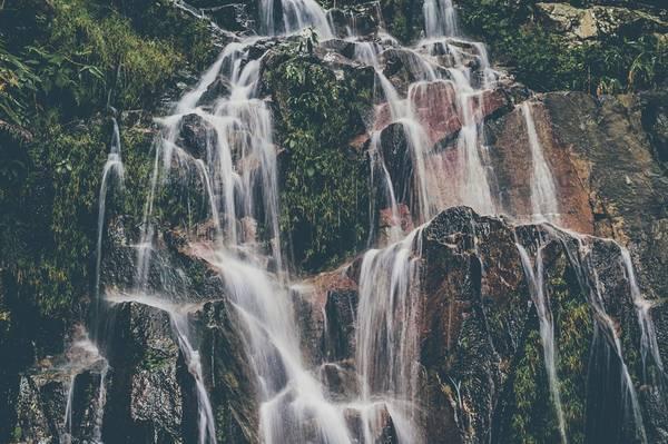 Thác Dambri: Cách thành phố Bảo Lộc 18 km, nằm trong khuôn viên quần thể khu du lịch, Drambi là một thác nước đẹp, cao nhất vùng Lâm Đồng. Ảnh: Hiếu Dương.