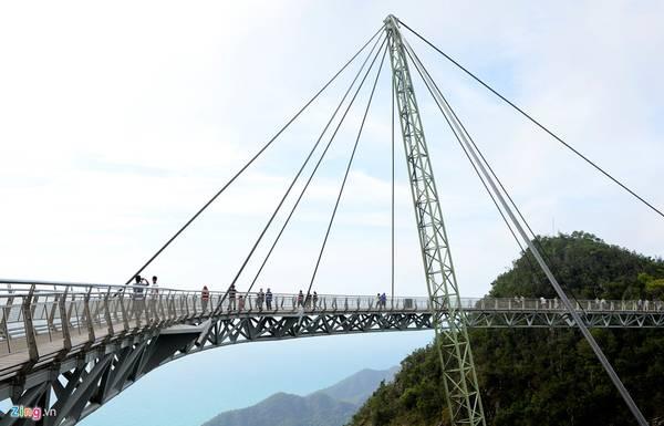 Cầu treo Langkawi cũng được bầu chọn là một trong những cây cầu kỳ dị nhất thế giới và là công trình có quá trình xây dựng rất khó khăn, tốn nhiều công sức.