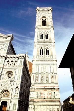 Tháp chuông của Duomo Florence