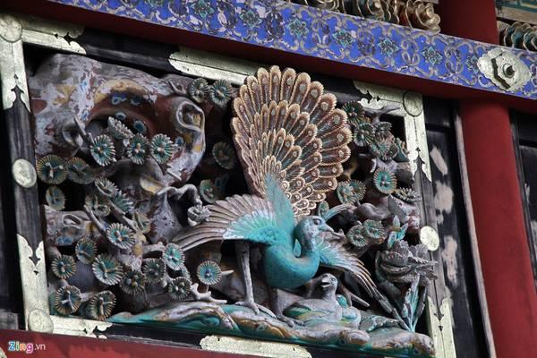 Tổ hợp kiến trúc là điểm tuyệt vời trong số các tuyệt tác kiến trúc Nhật Bản thể hiện lối trang trí sang trọng và tinh tế.