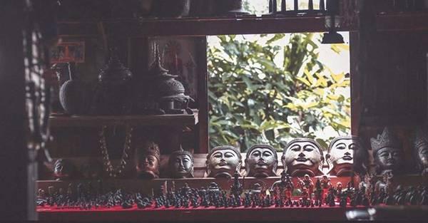 Tượng Phật cũng là những món đồ lưu niệm phổ biến ở Myanmar.