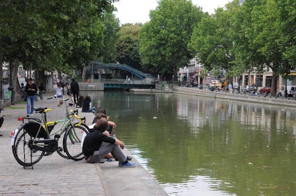 Cầu xoay Grange-aux-Belles và cầu đi bộ Grange-aux-Belles - Ảnh: wiki