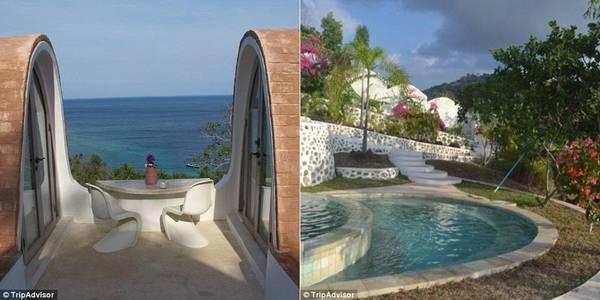Biệt thự nhìn ra biển và có bể bơi chung, đồng thời nằm cách đảo Gili không xa. Du khách phải chi 336 bảng (9,7 triệu đồng) một đêm cho 2 phòng ngủ tại đây.