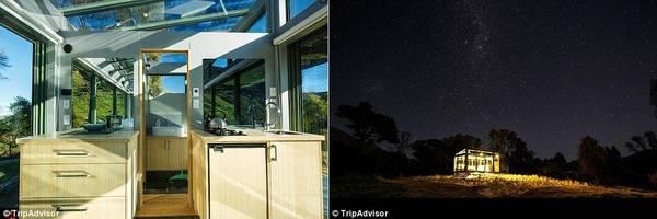 Cabin có diện tích khá nhỏ, nhưng vẫn đầy đủ tiện nghi như nhà tắm, bếp và lò sưởi. Đặc biệt, bạn sẽ được chiêm ngưỡng bầu trời sao tuyệt đẹp từ phòng ngủ. Giá thuê cabin là 311 bảng (khoảng 9 triệu đồng) một đêm.