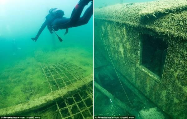 Andrusaite đăng tải những bức ảnh chụp dưới nước tuyệt đẹp trên trang web của cô.