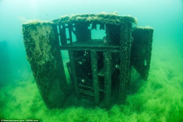 """Được mệnh danh là """"Alcatraz của châu Âu"""", Rummu được xây dựng trên một mỏ đá vôi."""