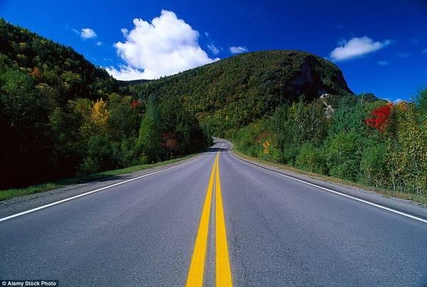 Đường 132, Quebec Đây là quốc lộ dài nhất Quebec, được xây dựng dựa theo những tuyến đường khám phá dọc theo sông St Lawrence và bán đảo Gaspe. Dọc đường là miên man những ngọn đồi trồng kín cây xanh và nhiều loại hoa.
