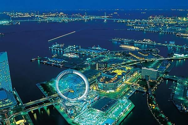5. Sky Garden (Kanagawa): Tòa nhà mang tính biểu tượng của Yokohama. Đài quan sát ở tầng 69 (cao 273 m so với mặt đất) của tòa nhà là nơi cho tầm nhìn 360 độ về vịnh Yokohama, tháp Tokyo và núi Phú Sĩ.
