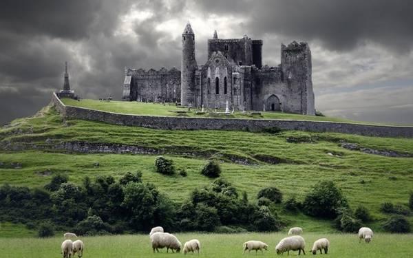 The Rock of Cashel, Ireland: Khung cảnh tuyệt đẹp xung quanh The Rock of Cashel khiến không ít du khách cho biết họ có cảm tưởng như mình đang lạc vào Ireland của những ngày xa xưa, với không gian thật yên bình. Nơi đây từng là chỗ ở của các vị vua Ireland và là điểm giảng đạo của thánh Patrick vào thế kỷ thứ 5.