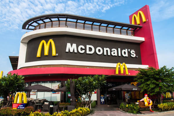 From 2002 to 2015, visitors can not find any McDonald's in Bolivia.